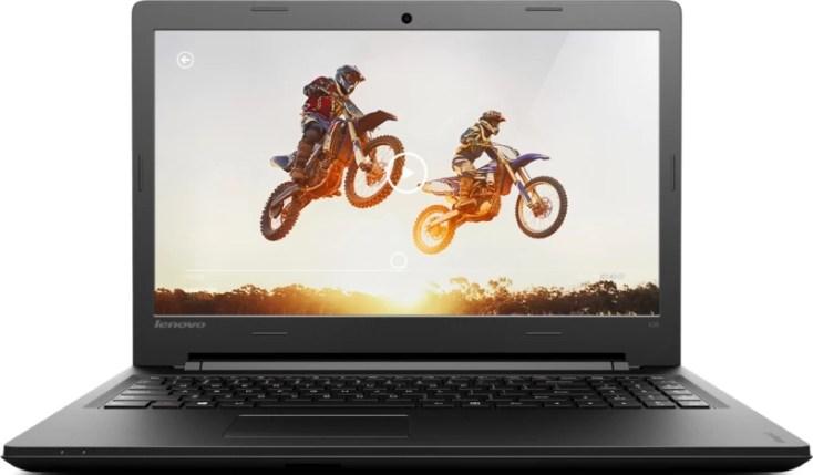 Lenovo Ideapad 100 Core i3 5th Gen - (4 GB/500 GB HDD/DOS) IP 100- 15IBD Laptop(15.6 inch, Black, 1.9 kg)