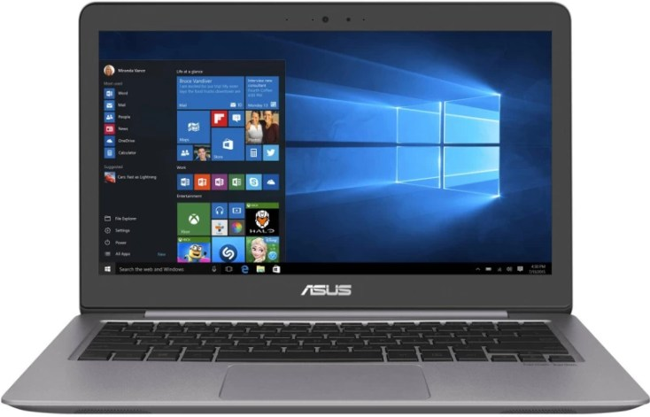 Asus Zenbook Core i5 6th Gen - (4 GB/512 GB SSD/Windows 10 Home/2 GB Graphics) UX310U Thin and Light Laptop(13.3 inch, Grey & SPin, 1.45 kg)