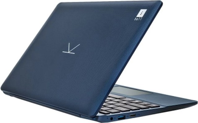 Iball Atom - (2 GB/32 GB EMMC Storage/Windows 10 Home) CompBook Excelance Laptop(11.6 inch, Blue, 1 kg)