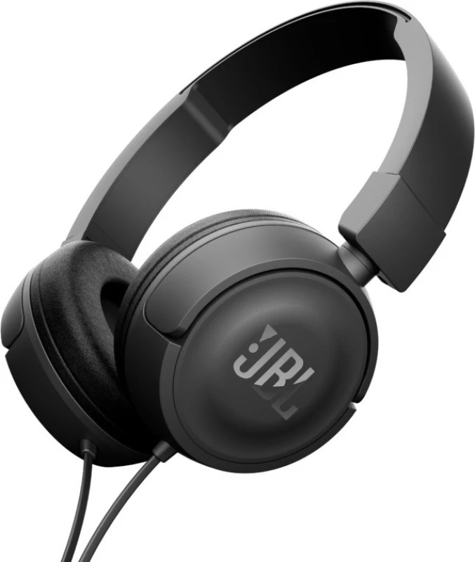 JBL T450BLACK Wired Headphone(Black, On the Ear)