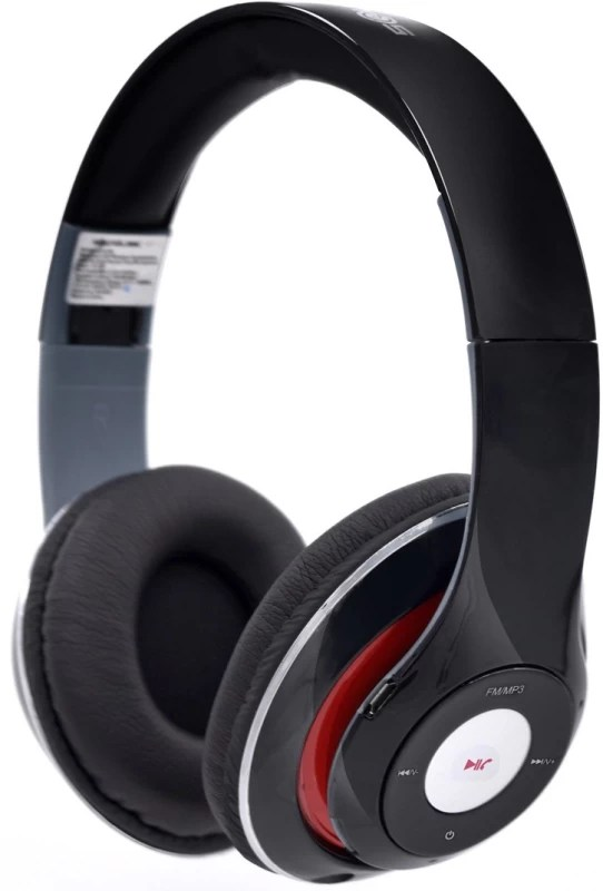 SoundLogic BTHP001PX_BK Bluetooth Headset with Mic(Black, Over the Ear)