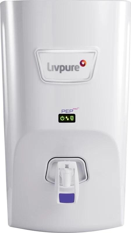 Livpure LIV-PEP-PRO-PLUS+ 7 L RO + UV +UF Water Purifier(White)