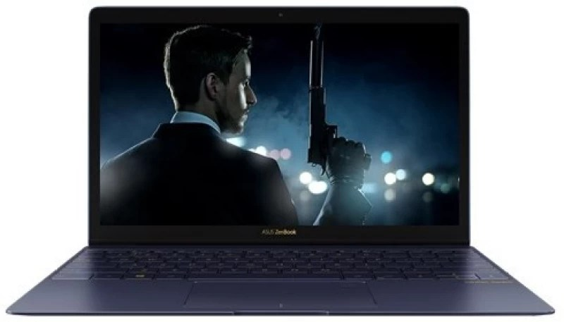 Asus Zen Book 3 Series Core i7 7th Gen - (16 GB/512 GB SSD/Windows 10) UX390UA-GS048T Thin and Light Laptop(12.5 inch, Blue, 0.91 kg)
