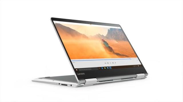 Lenovo Core i7 7th Gen - (8 GB/256 GB SSD/Windows 10 Home/2 GB Graphics) Yoga 710 2 in 1 Laptop(14 inch, Silver, 1.6 kg)