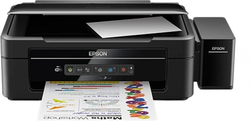 Epson L385 Multi-function Wireless Printer(Black, Ink Cartridge)