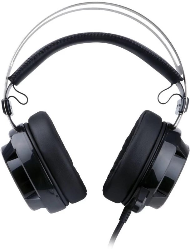 Redragon H301 SIREN Channel Surround Stereo Gaming Over Ear Headset with Mic(Black, Over the Ear)