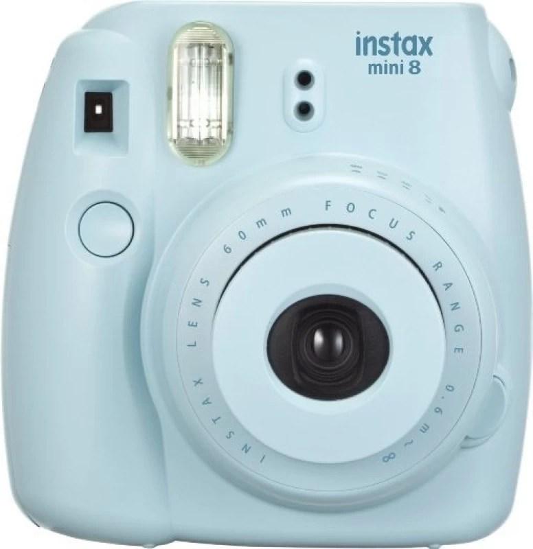 Fujifilm Instax Mini 8 Instant Camera(Blue)