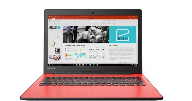 Lenovo Ideapad 310 Core i5 7th Gen - (4 GB/1 TB HDD/Windows 10 Home/2 GB Graphics) IP 310-15IKB Laptop(15.6 inch, Flamenco Red, 2.2 kg)