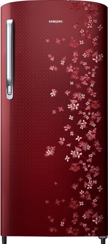 Samsung 192 L Direct Cool Single Door Refrigerator(Sangneri Red, RR19M1723RY/HL)
