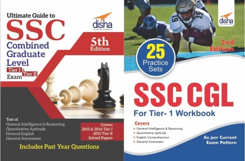 Crack SSC CGL (Tier I & Tier II) Exam (Guide + 25 Practice Sets) 4th Edition(English, Paperback, Disha Experts)