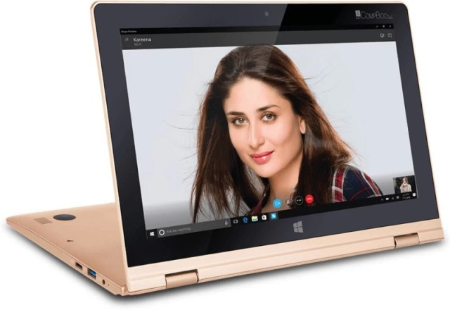 Iball Atom - (2 GB/32 GB HDD/Windows 10) i360 Notebook(11.6 inch, Gold)