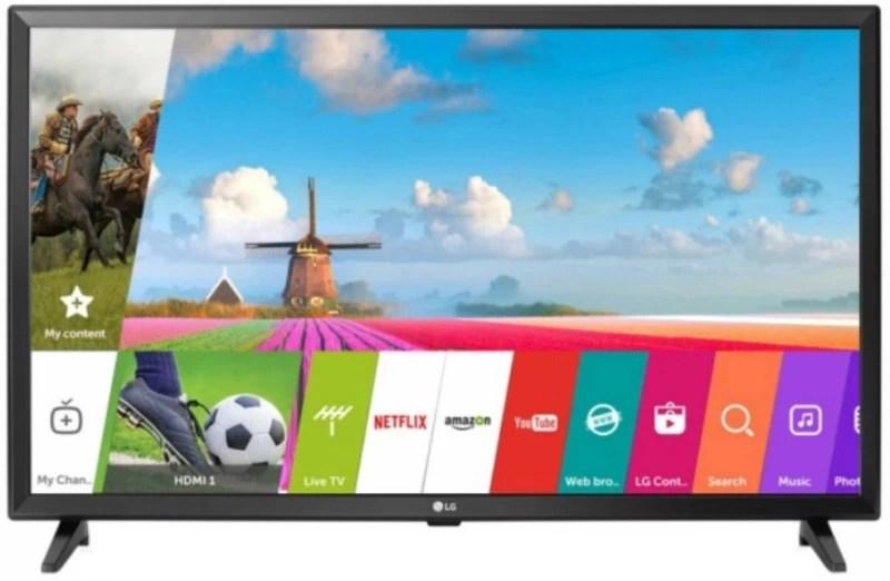 LG 80cm (32 inch) HD Ready LED Smart TV(32LJ616D)