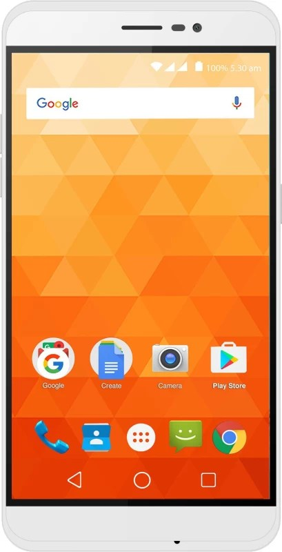 Panasonic P77 (White, 16 GB)(1 GB RAM)