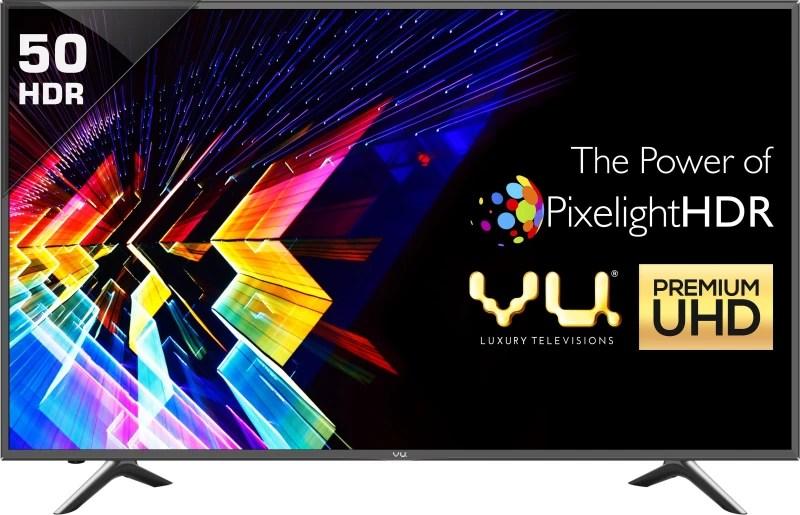 Vu 127cm (50 inch) Ultra HD (4K) LED Smart TV(LEDN50K310X3D Ver: 2017)