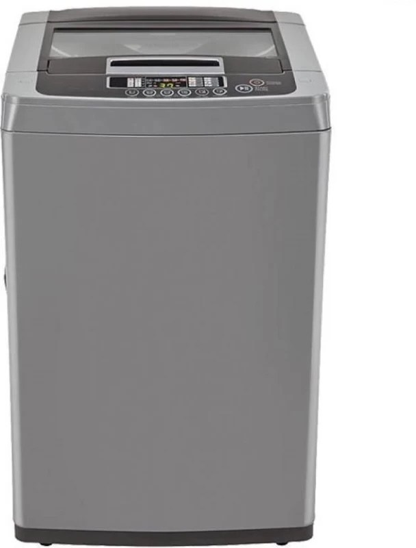 LG 7 kg Fully Automatic Top Load Washing Machine Silver(T8067NEDLH)