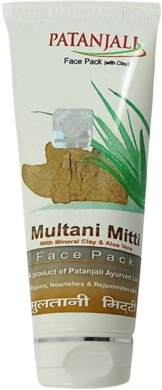 Patanjali Aloe Vera Multani Mitti 60g(60 g)