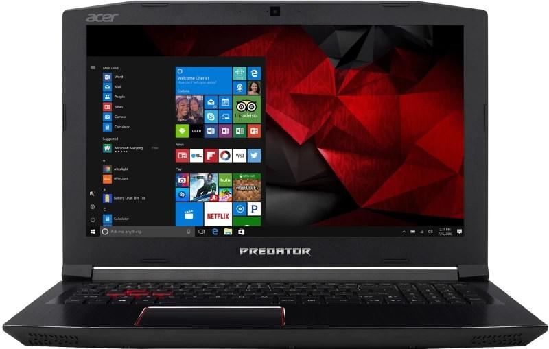 Acer Predator Helios 300 Core i5 7th Gen - (16 GB/1 TB HDD/128 GB SSD/Windows 10 Home/6 GB Graphics) G3-572 Gaming Laptop(15.6 inch, Black, 2.7 kg)