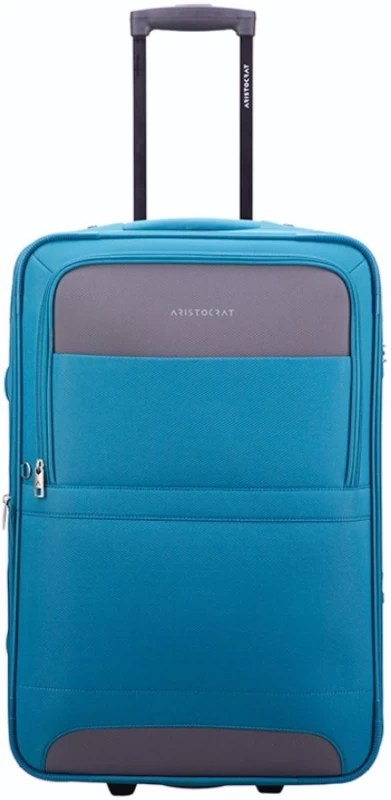 Aristocrat Corolla Expandable Check-in Luggage - 25 inch(Blue)
