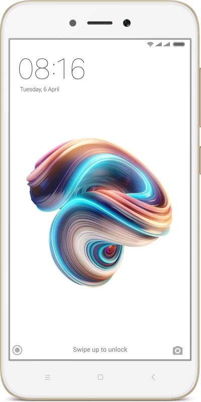 Redmi 5A (Gold, 16 GB)(2 GB RAM)