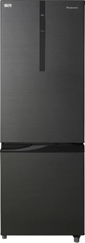 Panasonic 296 L Frost Free Double Door Refrigerator(Black, NR-BR307RKX1)