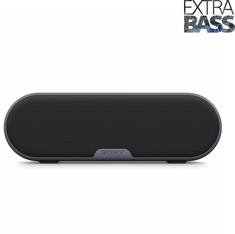 Sony SRS-XB2/BC Portable Bluetooth Mobile/Tablet Speaker(Black, Stereo Channel)