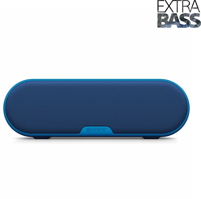 Sony SRS-XB2/LC Portable Bluetooth Mobile/Tablet Speaker(Blue, Stereo Channel)