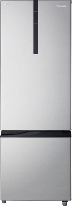 Panasonic 342 L Frost Free Double Door Bottom Mount Refrigerator(Shining Silver, NR-BR347RSX1)