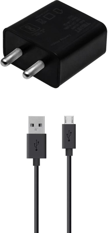 Trust Wall Charger Accessory Combo for Xiaomi Redmi Note 4, Xiaomi Redmi 4A, Xiaomi Redmi 3S Prime, Xiaomi Redmi Note 3, Xiaomi Mi Max Prime, Xiaomi Mi 4i, Xiaomi Redmi 1S, Xiaomi Mi3, Xiaomi Redmi Note Charger(Black)