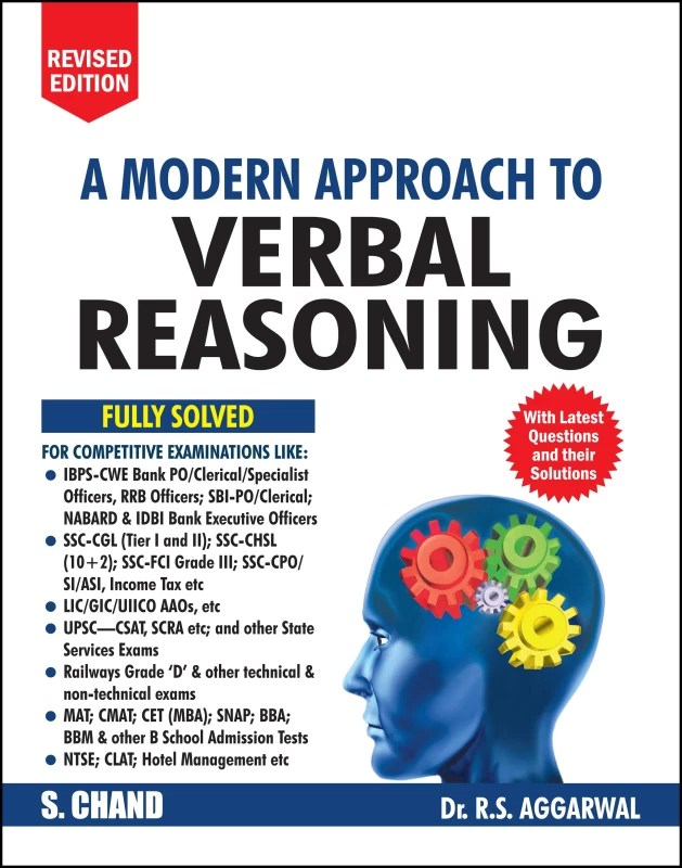 A Modern Approach to Verbal Reasoning : Includes Latest Questions and their Solutions(English, Paperback, R. S. Aggarwal)