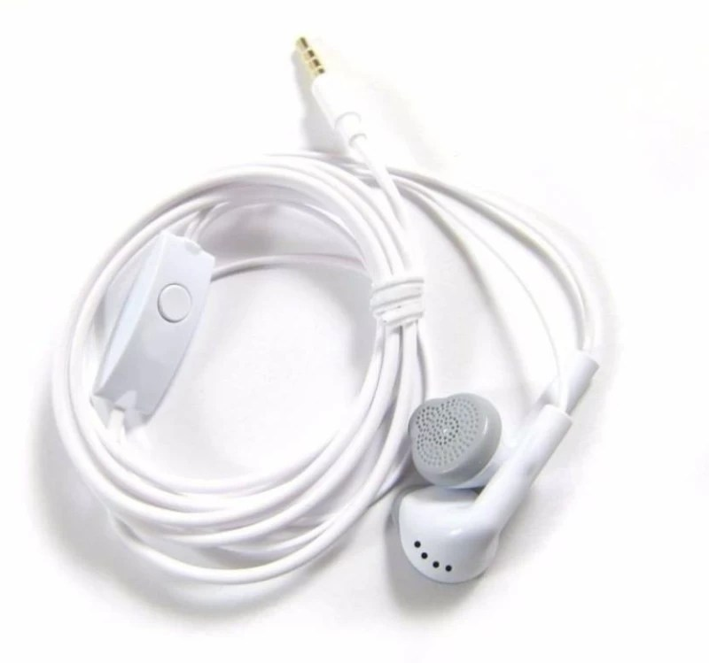 BJOS ZXWE256LP--Earphone YS Stereo Super Bass Earphone With Mic - (White, In the Ear) Headset with Mic (White, In the Ear) Wired Headset with Mic(White, In the Ear)