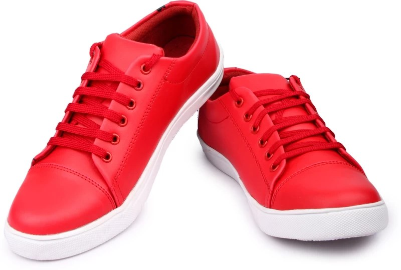 Anson Men Red Causal shoes Sneakers For Men(Red)