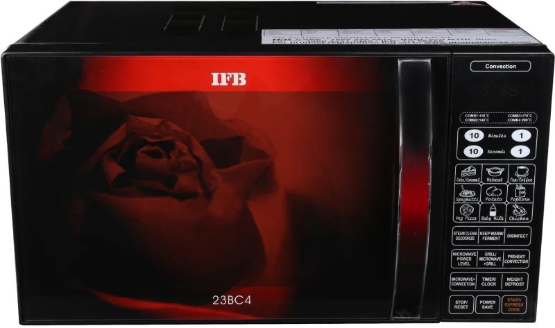 IFB 23 L Convection Microwave Oven(23BC4, Black)