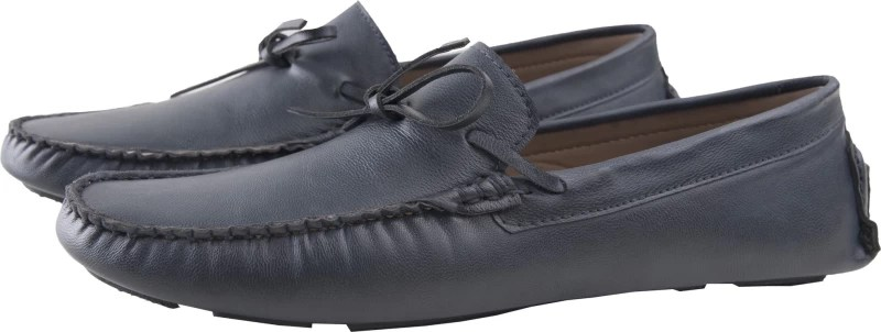 Elitous Laced Driver Loafers Loafers For Men(Blue)