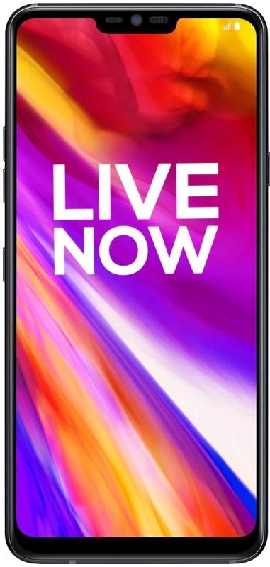 LG G7+ ThinQ (Black, 128 GB)(6 GB RAM)