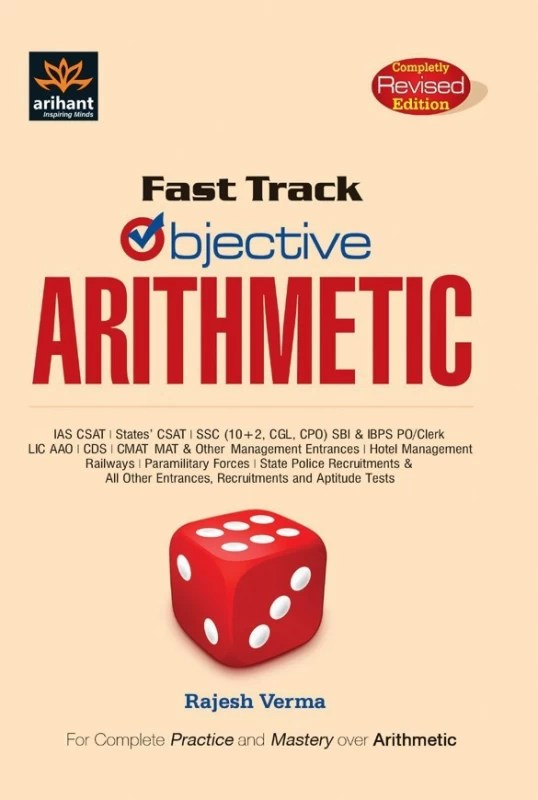Fast Track Objective Arithmetic(English, Paperback, Rajesh Verma)