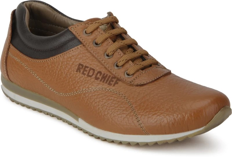 Red Chief RC3522 107 Sneakers For Men(Tan)