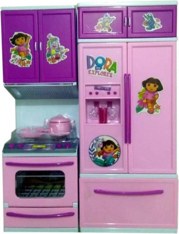 Dora Kitchen Toy : kitchen, Skyler, Explorer, Light, Sound, Battery, Operated, Modular, Kitchen, Girls-, Online, Faroe, Islands, Faroe.desertcart.com., ProductId, 153677850.