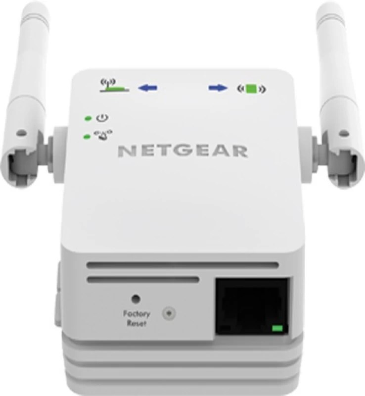 Netgear 300Mbps Wifi Repeater, Range extender and Access Point support CCTV Systems Router(White)
