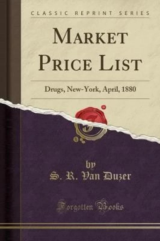 Market Price List(English, Paperback, Duzer S R Van)