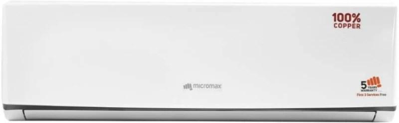Micromax 1.0 Ton 3 Star Split AC - White(ACS12C3T3QS6WH, Copper Condenser)