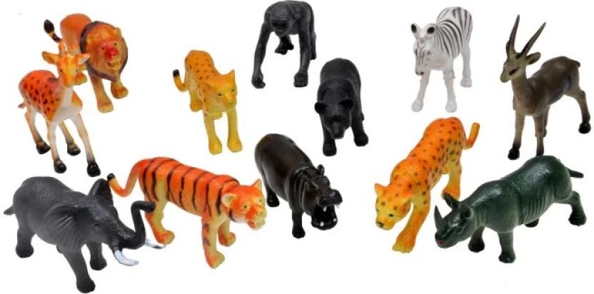 A2b Wild Animals Plastic Toys For Kids Wild Animals