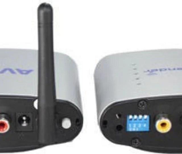 Divinext Pat 220 Audio Video Transmitter Receiver 5 W Av Power Receiver