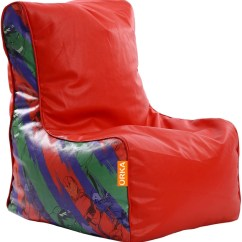 Avengers Bean Bag Chair Dining Room Covers In Store Orka Xxxl Digital Printed With Filling Red Multicolor