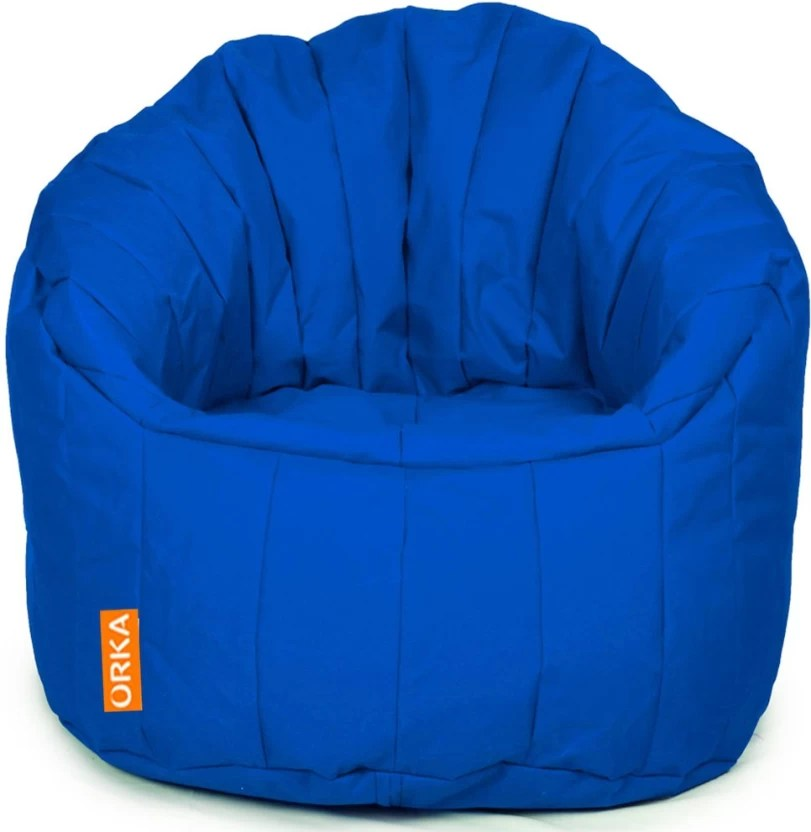 blue fl sofa sectional vs reddit orka xxxl big boss chair bean bag with filling price in