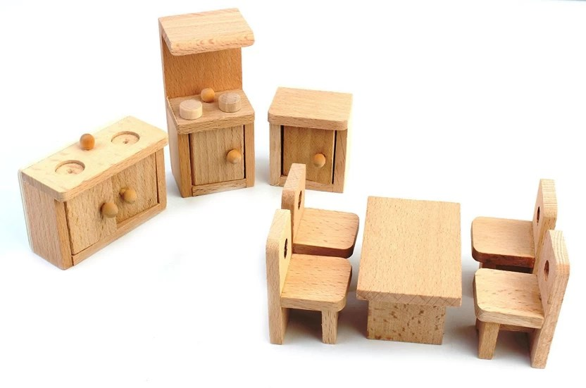 solid wood toy kitchen cabinet inserts ideas shrih miniature dollhouse furniture set