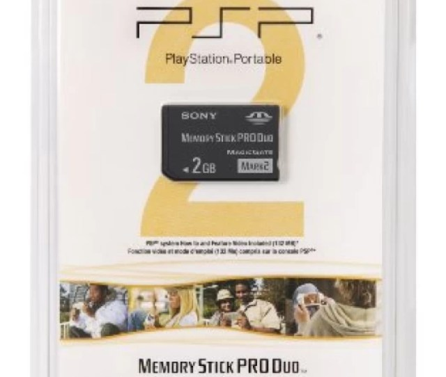 Sony Psp Memory Stick Pro Duo 2gb Gaming Accessory Kit