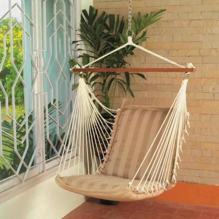 hanging chair flipkart indoor hammock stand hangit soft tan polyester swing price in india buy brown