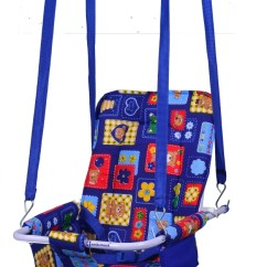 Hanging Chair Flipkart High Cover John Lewis Mothertouch 2 In 1 Swing Bouncer Buy Baby Care Products India Blue
