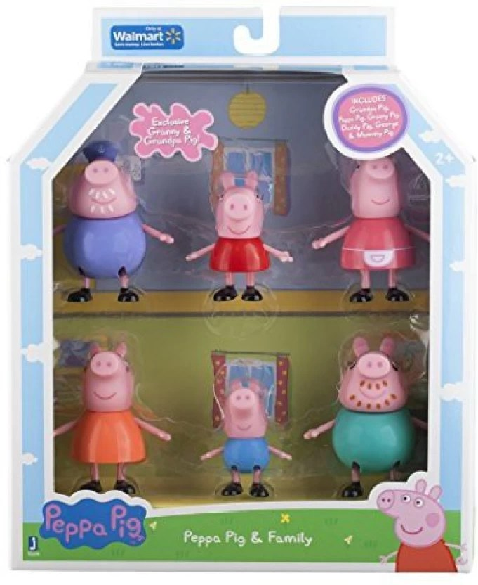 peppa pig family figure