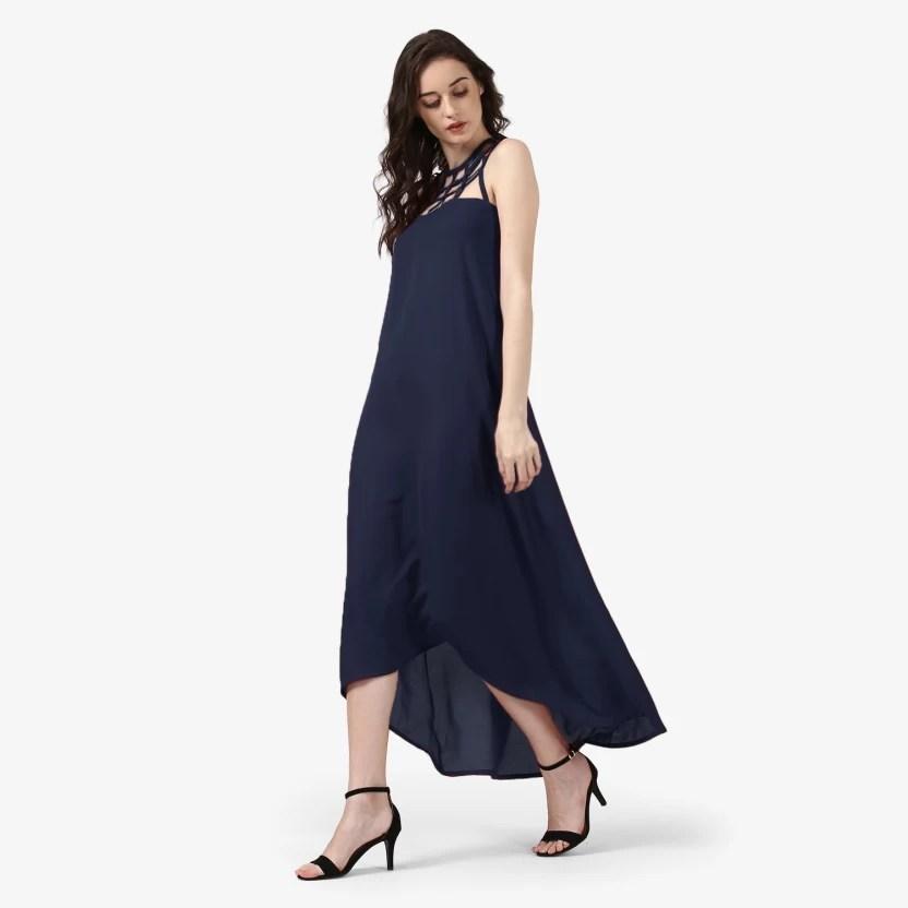 Blue Maxi Dresses for Women